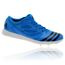 Adidas Adizero Triple Jump 2 Mens Blue Track Field Spikes Shoes Trainers New