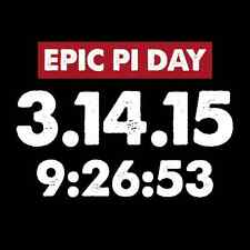 Epic Pi Day 2015 Funny Mens T Shirt Math Geek Nerd Ultimate Pi Day College Shirt