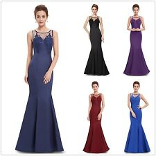 Women's Elegant Sexy Long  Mermaid Ball Gown Evening Party Formal Dress 08358