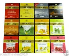 TWININGS of LONDON Tea Bags 25 Bags / Pack Many Flavours