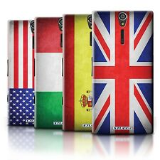 STUFF4 Back Case/Cover/Skin for Sony Xperia S/LT26i/Flags