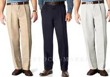 NEW MENS DOCKERS D4 RELAXED FIT TEXTURED MICROFIBER PLEATED PANT! VARIETY