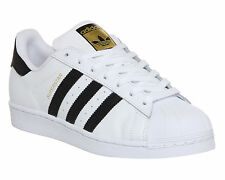 Adidas Superstar 1 WHITE BLACK FOUNDATION Trainers Shoes
