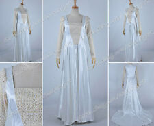 Oz The Great and Powerful Cosplay Glinda Costume White Sweety Dress High Quality