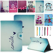 """Popular 10"""" Universal PU Leather Stand Cover Case +Pen For 10"""" 10.1"""" Inch Tablet"""