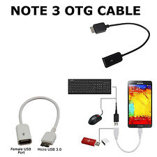 OTG Data Adapter Cable USB Female to Micro USB 3.0 Male For Galaxy Note 3 N9000