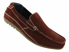 HUSH PUPPIES NOMAD MENS LEATHER COMFORT SHOES/LOAFERS/CASUALS/FASHION