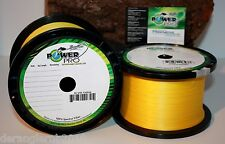 POWER PRO Gelb Yellow Braid 10m 0,10mm 0,13mm 0,15mm 0,19mm 0,23mm 0,28mm 0,32mm