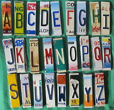 License Plate Letters Numbers Crafts, Signs, Decor, Yard Ornaments, Mancave, Bar
