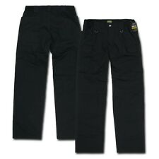 Black Cargo Army Military BDU Ripstop Utility Tactical Uniform Pants - 16 SIZES