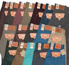 Levi's Men's 501 Original Shrink-to-Fit Jeans *^*^*Many Colors*^*^* All New .