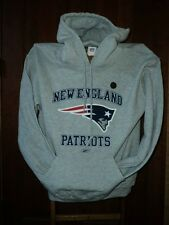 New England PATRIOTS Gray Hooded Sweatshirt Hoodie   NWT