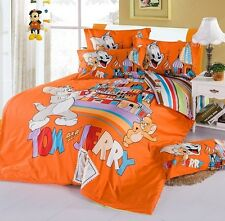 ** Tom and Jerry Queen Bed Quilt Cover Set - Flat or Fitted Sheet **