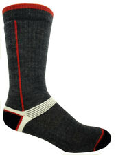 2 Pairs MERINO Wool HIKING Socks with MESH top for AIR FLOW