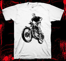 The Great Escape - Steve McQueen - Pre-shrunk 100% hand made silk screen t-shirt
