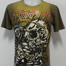 Minute Mirth T-Shirt Skull Boxer Graffiti Rock Punk MC18 New Size M L