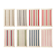 """Ikea Signe Flatwoven Area Kitchen Rug Striped Entry Washable 100% Cotton 20X30"""""""