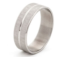 Men's ring in sizes L M N O P Q R S T U V W + personalised engraved gift box -TL