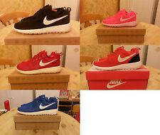 !!NIKE ROSHE RUN RUNNING TRAINERS UK 3-10 EUR 35-45 BNIB 5 COLOURS !!