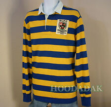 Large  NWT Polo Ralph Lauren Men's  Rugby Shirt  Custom Fit  Long sleeve