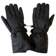 NEW HAWG HIDES GENUINE BLACK LEATHER MOTORCYCLE GAUNTLET S M L XL 2XL