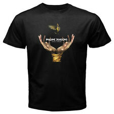 New IMAGINE DRAGONS Smoke + Mirrors Rock Band Men's Black T-Shirt Size S to 3XL