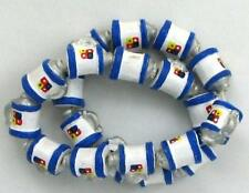 Hand Painted Ceramic Beads, 10mm Beer Stein Design, New