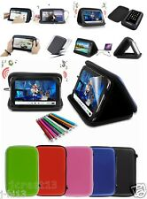 "Speaker Leather Case Cover+Gift For 7"" Polaroid A7 L7 Android Tablet GB5"