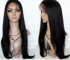 Wig Made of 100% Indian Human Hair Silky Straight Full Lace Wig/ Lace Front Wigs