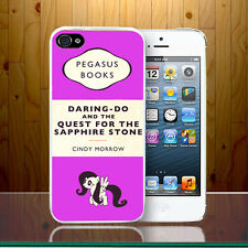 Pegasus Retro Penguin Book Little Pony Cute Unicorn Hard Phone Case Cover Z405