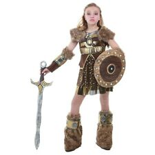 Viking Girl Costume Kids Astrid How To Train Your Dragon Halloween Fancy Dress