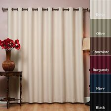 Grommet Top Thermal Blackout Curtain Panel Window Shade Blind Home Fashion! NEW!