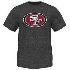 NWT San Francisco 49ers NFL Majestic Mens Victory Gear VII T-Shirt - Charcoal