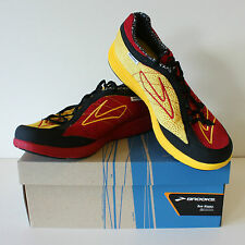 Brooks Green Silence Mens Running Shoes Sports Fitness Trainers UK 10 10.5 11
