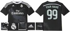 *14 / 15 - ADIDAS ; REAL MADRID 3rd SHIRT SS / PERSONALISED = KIDS SIZE*