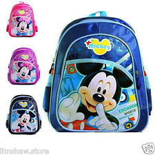 Baby Toddlers Mickey MInnie Mouse Boy Girl Backpacks 2T 3T 4T 5T School Book Bag