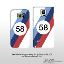 Samsung Galaxy S6 Edge S5 S4 & Note 4 BMW M-Sport racing livery phone case 139