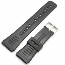 New Classic Black 20mm 22mm Rubber Wrist Watch Band Strap Replacement Strap