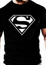 Superman T SHIRT Casual Gym Wear Marvel Hero Super workout training clothes top