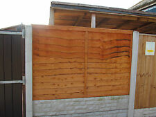 Sturdy Waney Overlap Fencing Panels