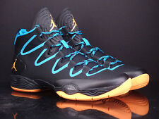 AIR JORDAN XX8 SE black atomic mango powder blue OKC basketball 616345 036
