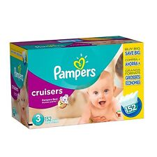 Pampers Cruisers Diapers Choose Your Size 80230622 - Brand New Item
