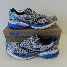 Brooks Ghost 4 Mens Running Shoes Sports Fitness Gym Trainers UK 9.5 10 10.5 NEW