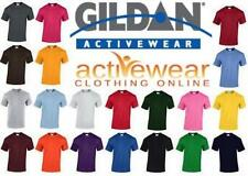 New Plain Blank Gildan 100% Heavy Cotton T-Shirt G5000 5000 in 47 Colours !!  -