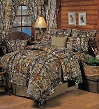 Realtree® All Purpose Camo 9 pc Bed in Bag or 4 pc Comforter Set - Licensed