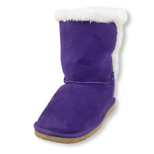 New Toddler Girls Chalet Winter Boots Shoes SZ 9 10 11 12 13 Purple Pink Brown