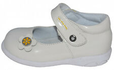 Brand NEW in Box Leather Toddler Girl Shoes size 5 6 7 8 9 White