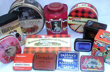 TINS   COLLECTABLE VINTAGE, EUROPEAN  - click on the site to chose and order