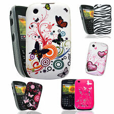 Patterned Case Cover For Blackberry Curve 8520 9300