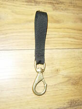 No 2 NAVAL BRONZE SNAP HOOK ( WITH OR WITHOUT WEBBING )